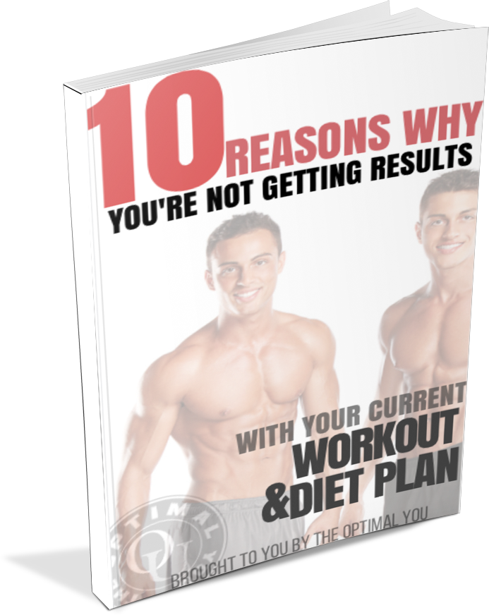 10 REASONS WHY YOU'RE NOT GETTING RESULTS WITH YOUR WORKOUT AND MEAL PLAN EBOOK COVER
