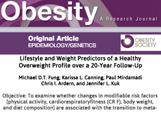 Research published in Journal of Obesity